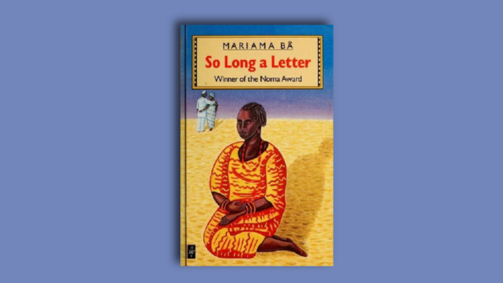 Book cover of So Long a Letter by Mariama Ba.