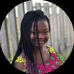Ayooluwa smiling